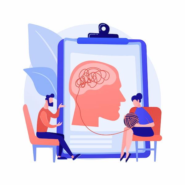 Tratando trauma con ayuda psicológica