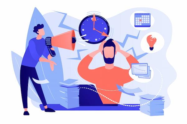 Superar el estrés en el trabajo